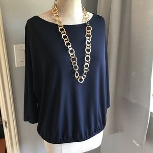 Chicos Cold Shoulder top